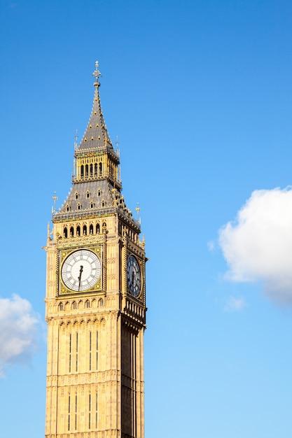 Big ben clock tower Photo Premium