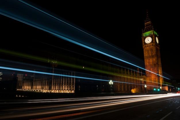 Big ben la nuit Photo Premium