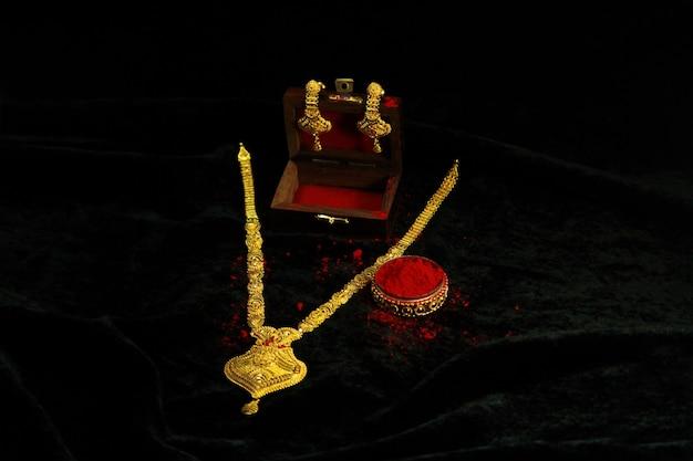 Bijoux traditionnels indiens Photo Premium