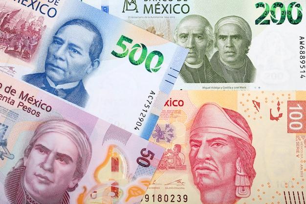 Billet De Peso Mexicain Photo Premium