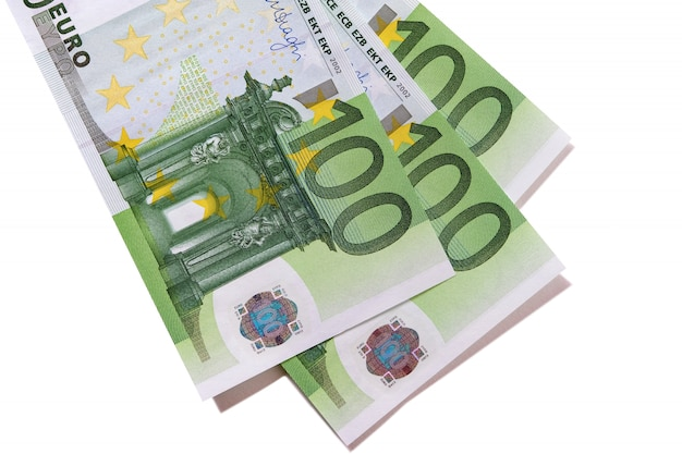Billets De 100 Euros Photo gratuit