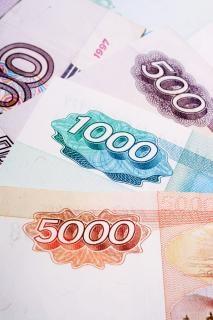 Billets de banque russes Photo gratuit