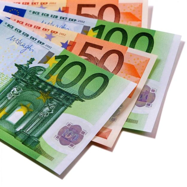 Billets En Euros Photo gratuit