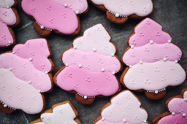 Biscuits Au Pain D'épice De Noël Photo Premium