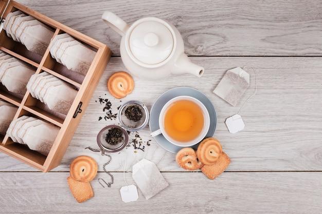 Biscuits au thé anglais Photo gratuit
