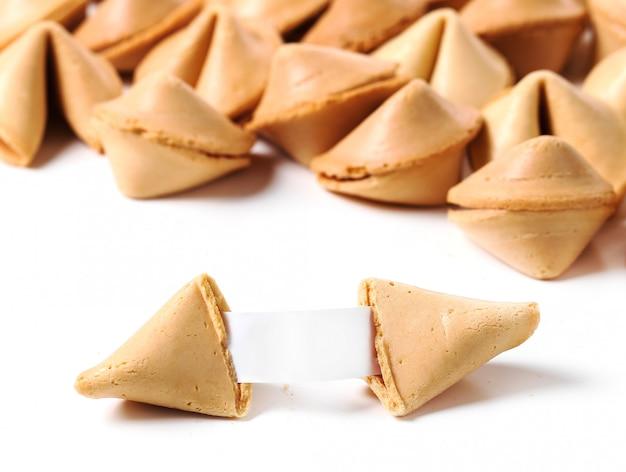 Biscuits De Fortune Avec Du Papier Photo gratuit
