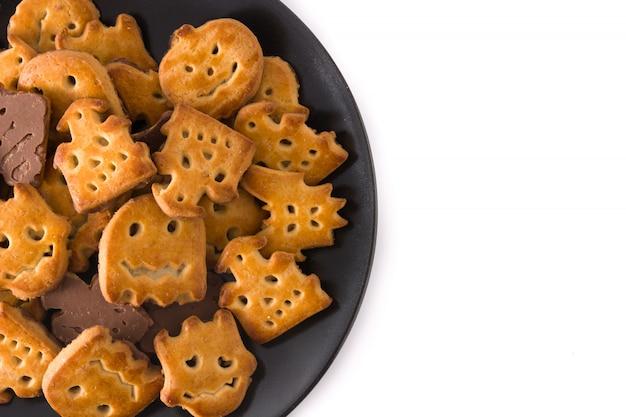 Biscuits D'halloween Drôles Photo Premium