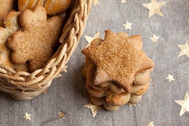 Biscuits Maison De Noël Photo Premium