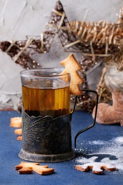 Biscuits De Noël Sablés Pour Tasses Photo Premium