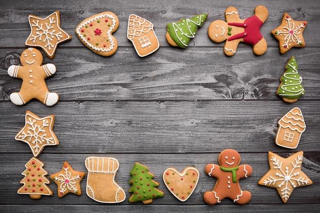Biscuits de noël Photo gratuit