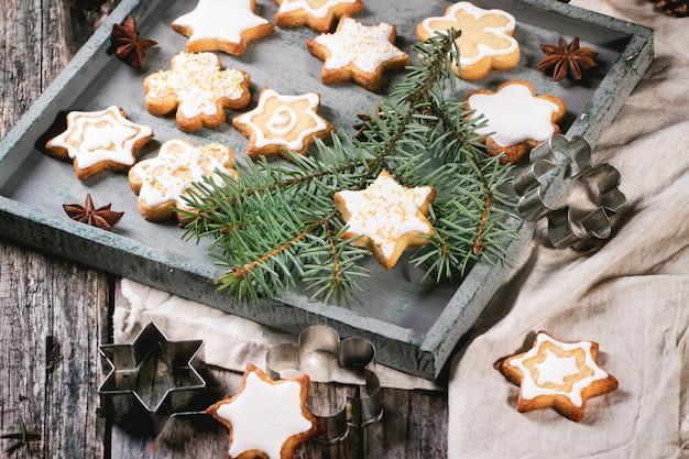 Biscuits De Noël Photo Premium