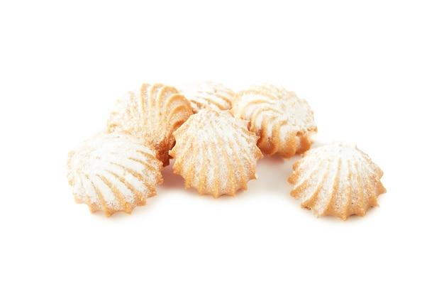 Biscuits Sablés De Différentes Formes Avec Farce Isolé Photo Premium