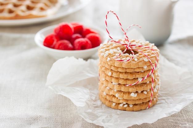 Biscuits Savoureux Pour Le Dessert Photo gratuit