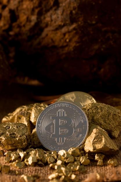 Bitcoin, c'est de la monnaie numérique pour l'investisseur Photo Premium