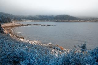 Bleu brumeux cape Photo gratuit