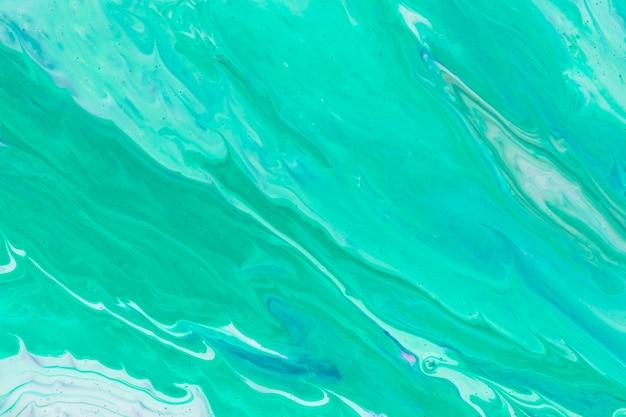Bleu Simpliste De Coulée Acrylique Photo gratuit