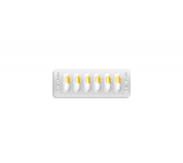 Blister Avec Des Pilules Photo Premium
