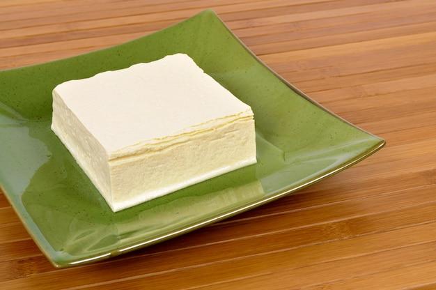 Bloc de tofu frais Photo Premium
