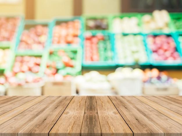 Boards avec floue légumes fond Photo gratuit