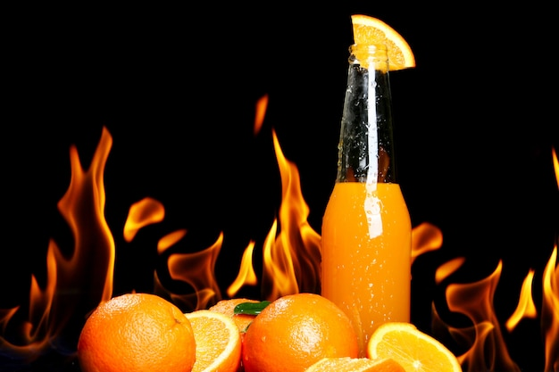 Boisson Chaude à L'orange Photo gratuit