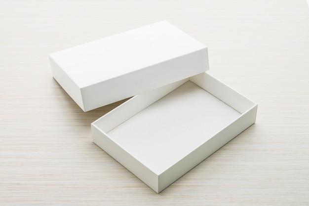 Boîte blanche Photo gratuit