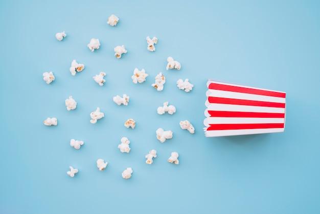 Boîte de pop-corn de cinéma Photo gratuit