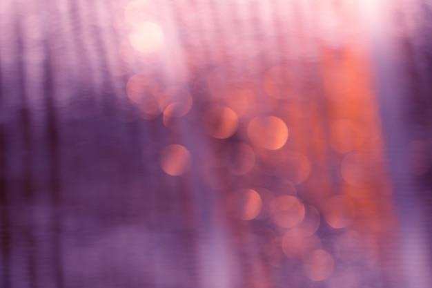 Bokeh de lumières pour résumé de fond. Photo Premium