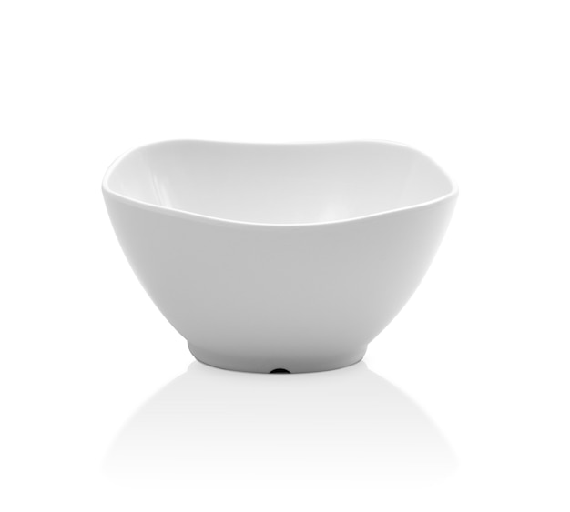 Bol blanc vide Photo Premium