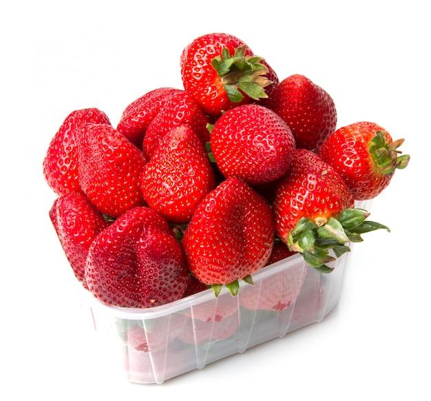 Bol de fraises fraîches Photo Premium