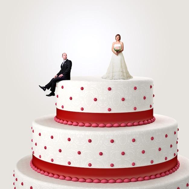 Bon mariage Photo Premium