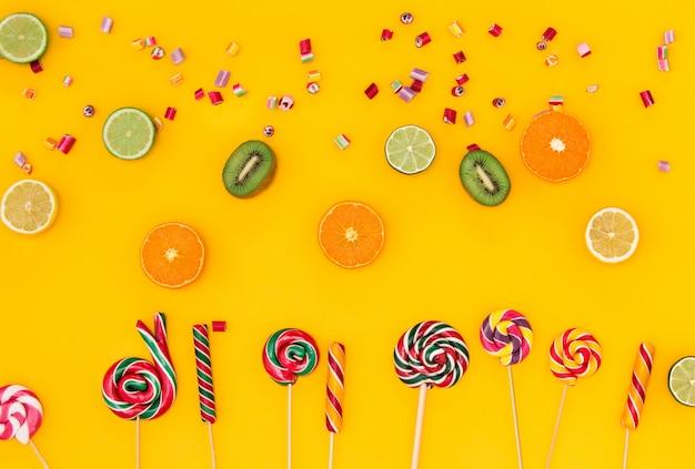 Les Bonbons Colorés Photo gratuit