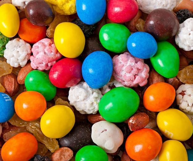 Bonbons Sucrés Colorés Photo gratuit