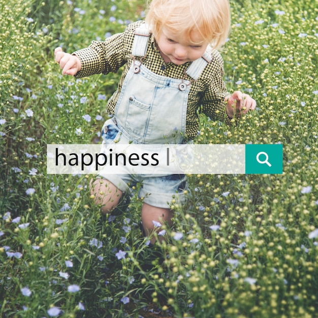 Bonheur sourire positivité graphique graphique Photo gratuit
