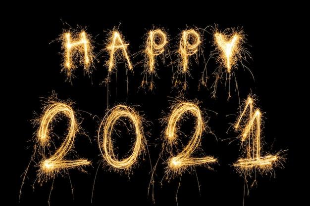Bonne Année 2021 Concept Photo Premium