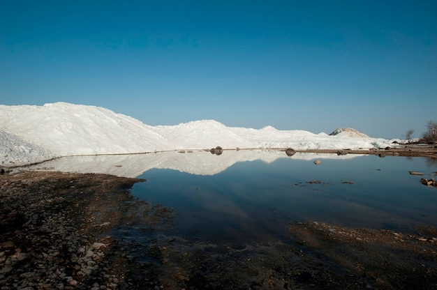 Bord du lac winnipeg à gimli, manitoba canada Photo Premium