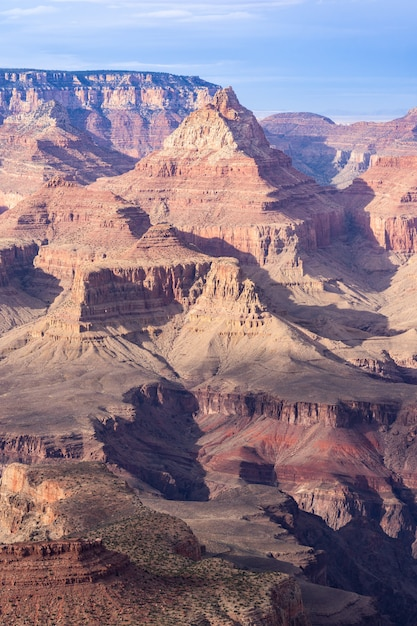 Bord sud du grand canyon Photo Premium