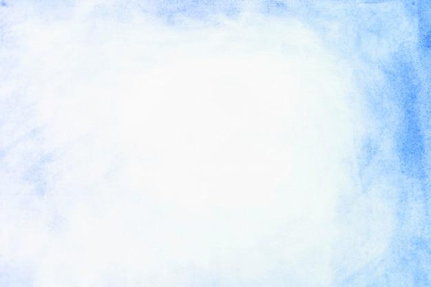 Bordure de peinture bleue Photo gratuit