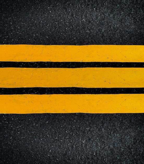 Bouchent fond vue de dessus asphalte Photo Premium
