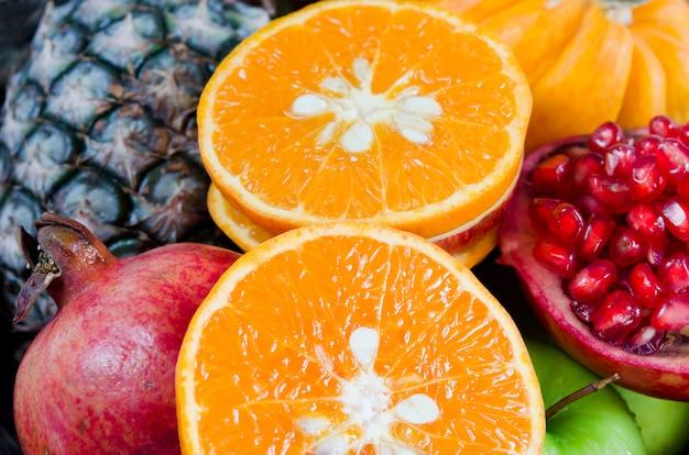 Bouchent les fruits frais Photo Premium