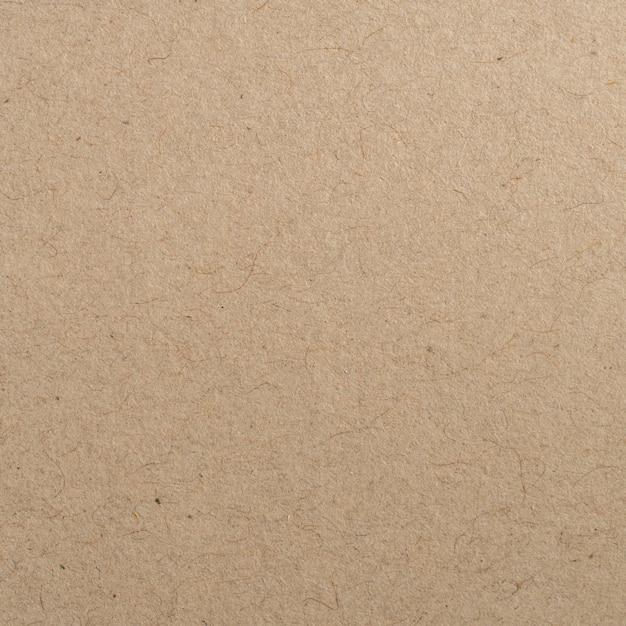 Bouchent la texture et l'arrière-plan de papier kraft brun Photo Premium