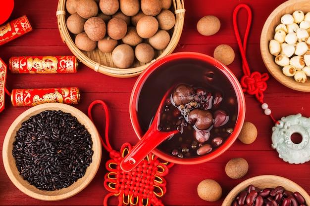 Bouillie De Céréales Photo Premium