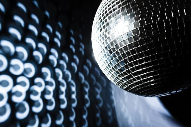 Une boule disco miroir Photo Premium