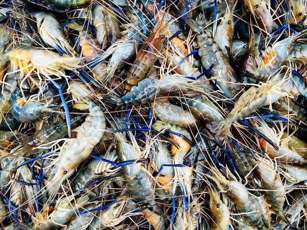 Un bouquet de crevettes Photo gratuit