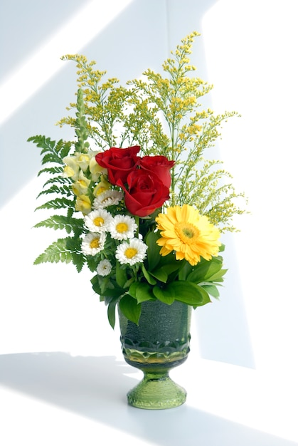 Bouquet de fleurs Photo Premium