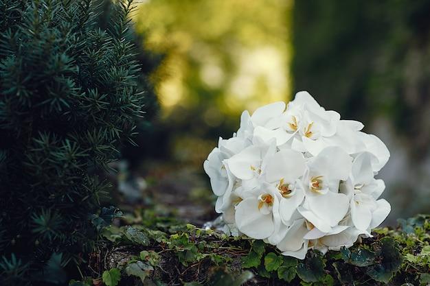 Bouquet de mariage élégant Photo gratuit