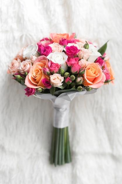 Bouquet de mariage Photo gratuit