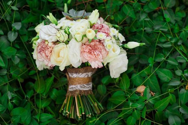 Bouquet de la mariée. Photo Premium