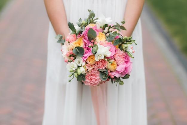 Bouquet de mariée Photo gratuit