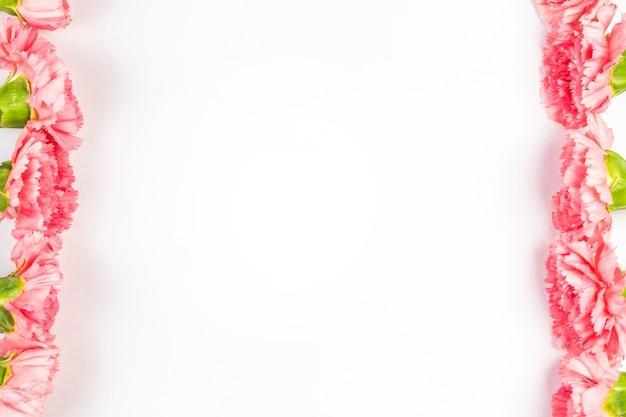 Un bouquet d'oeillets Photo Premium