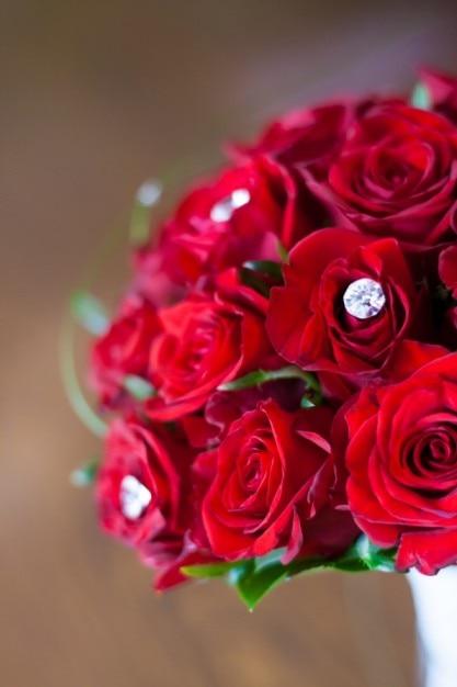 Bouquet de roses Photo gratuit
